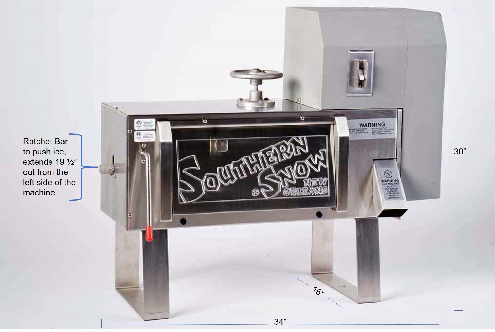 Southern Snow Shave Ice Machine
