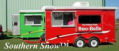 Southern Snow Concession Trailers
